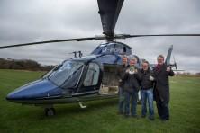 Skylark crew arriving home