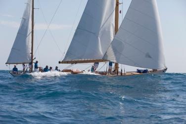 Skylark racing in Antibes 2014