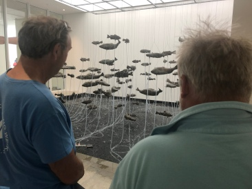 100 Fish Fountain by Bruce Nauman
